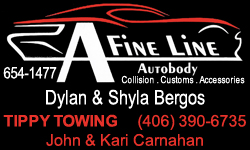 A Fine Line Autobody Tippy Towing